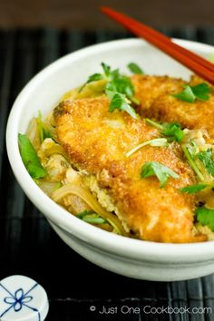 Chicken Katsu Don Recipe | Easy Japanese Recipes at Just One Cookbook