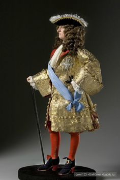 Louis XIV, 1685 - Louis XIV (1638-1715, King from the age of five 'til death at seventy-seven. His court was the most splendid and his great palace at Versailles the most magnificent in the western world. France's economic power was ruined by the forty years of war waged to aggrandize Louis' reign. Louis and France were at the point of destruction at the time of his death.