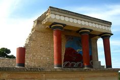 Palace of Knossos Crete, Greece
