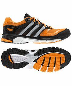 adidas Performance - Herren Laufschuh Response Cushion 22 orange/schwarz #adidas #runningshoes #neon