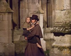 can we have men wear cape-coats like this again? and hats? please? I'll wear pretty dresses...