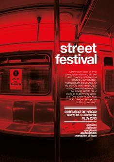 street festival  NY :: Posters