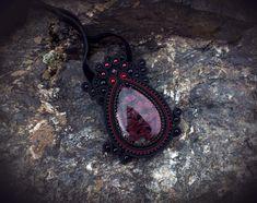 Одноклассники Soutache Pendant, Macrame, Gemstone Rings, Gemstones, Beads, Jewelry, Fashion, Black People, Beading