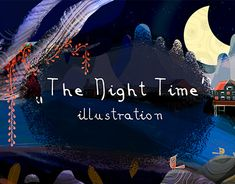 """Check out new work on my @Behance portfolio: """"The night time."""" http://be.net/gallery/60483763/The-night-time"""