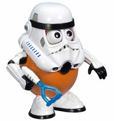 $19.95This official Star Wars Storm Trooper Mr. Potato Head will m�