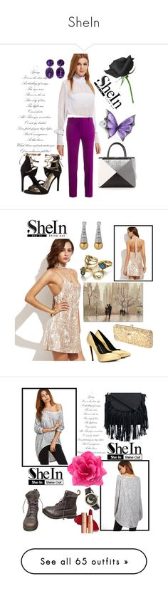 """""""SheIn"""" by aazraa ❤ liked on Polyvore featuring Roland Mouret, Stuart Weitzman, Fendi, Stephen Webster, Yves Saint Laurent, Trademark Fine Art, Dr. Martens, Sophie and Freda, New Balance and Rip Curl"""