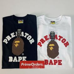 b35eb755024 OG Bape meets The Predator! Full size run available  primeorders  hypebeast   hype