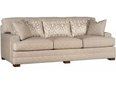 Shop for King Hickory Morocco Sofa, 5700, and other Living Room Sofas at Bartlett Home Furnishings in Memphis, Tennessee 38134. Seat Cushions:Comfort Down.  Back Pillows: Loose.  Throw Pillows: 2 P21.  Standard Finish: Warm Brown (No Finish Options).