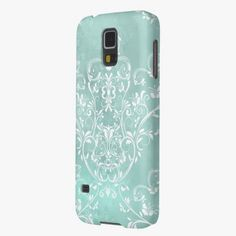 Love it! This Elegant Teal Damask Galaxy S5 Case is completely customizable and ready to be personalized or purchased as is. It's a perfect gift for you or your friends.