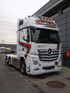Semi Trucks, Big Trucks, Mercedes Benz Trucks, Volvo Trucks, Mobile Marketing, Mercedes Benz Commercial, Mb Truck, Trailers, Carl Benz