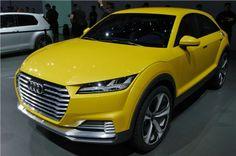 Audi TT offroad concept unveiled.