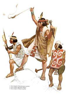 ¿Cómo eran los guerreros Incas? #Historia