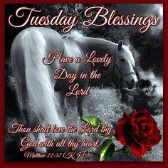 Tuesday Blessings, Matthew 22:37