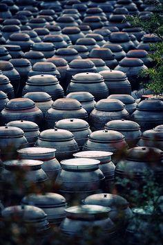 Kimchi fermentation pots | Korea