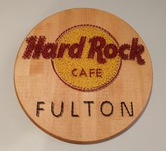 Hard Rock cafe sign for my hometown
