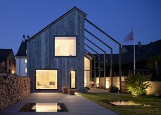 Eighteenth century building in northern Switzerland converted into offices and a home.