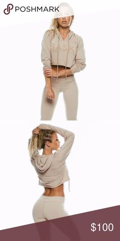 Saski collection nude hoodie Sold out online ✨ just not a fan of color on me ✨ priced for a treason no rude comments 😊 There is a offer button for a reason & if I'm able to counter I will try & work with you! NO LOW BALLS 🚨🚨🚨🚨 Tops Sweatshirts & Hoodies