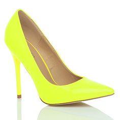 Damen Höher Absatz Kontrast Party Spitz Gepflegt Fesch Arbeit Pumps Schuhe 4 37 - http://on-line-kaufen.de/ajvani/37-eu-4-uk-damen-hoeher-absatz-kontrast-stilettos-11