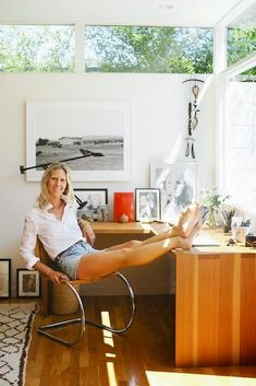Habitually Chic®: California Cool in C Home The home of stylist Jessica de Ruiter