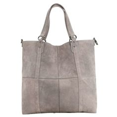 Suede Patchwork Tote l Ecote