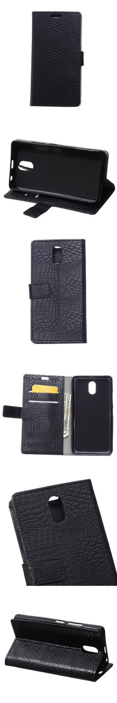 KaZiNe Crocodile Texture Wallet Stand Leather Cover for Lenovo Vibe P1M -$4.73