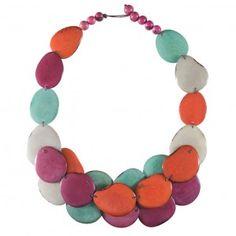Daphne Bib Necklace from Faire, fair trade accessories