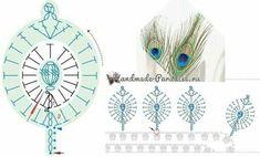 Login - Her Crochet Crochet Feather, Crochet Leaves, Crochet Motifs, Crochet Borders, Crochet Flower Patterns, Freeform Crochet, Crochet Chart, Crochet Doilies, Crochet Flowers