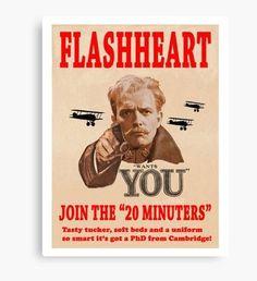 the 20 Minuters recruitment drive from Blackadder