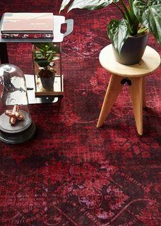 Bonaparte tapijt Vintage - rood