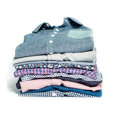 Shirt stack by Kirrin Finch