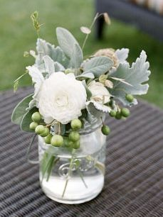 Mason Jar with flowers!