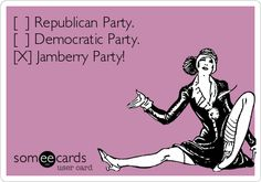 Republican Party. [ ] Democratic Party. [x] Jamberry Party ...