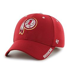 pretty nice a22fd 916e3 Washington Redskins Condenser MVP Razor Red 47 Brand Adjustable Hat - Great  Prices And Fast Shipping at Detroit Game Gear