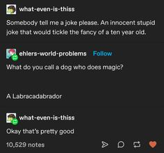 Stupid Funny Memes, Hilarious, Dad Jokes, Dad Puns, Funny As Hell, Funny Tumblr Posts, Really Funny, I Laughed, Funny Things
