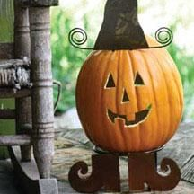 Rustic Metal Pumpkin Parts / Witch  $29.00