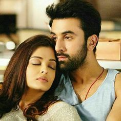 Ash and Ranbir, onscreen couple. Kinda weird, because of age difference. She looks awesome, right?! Hey, about time that Bollywood is doing this!