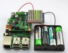 Agrega un display de 8X8 y alimentación por baterías a tu Raspberry Pi - Raspberry Pi