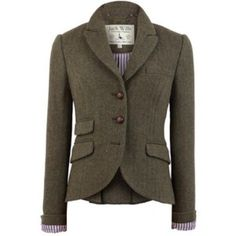 ⬇️!! NWoT Jack Wills Tweed Austerberry blazer PRICED TO SELL!!! Never worn Jack Wills English equestrian-style riding jacket. Thick wool with genuine leather covered buttons on chest, sleeves and back. Also features fun signature JW pink and blue striped linen. Sleeves can be worn cuffed and collar popped to show the lining! Measurements when laid flat- top of collar to bottom of jacket 20 in. front/25 in. back. Waist 16 in. sleeve inseam 16 in. and from top of shoulder to end of sleeve 22…