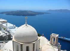 """See 653 photos from 10779 visitors about transfer, greece, and port of santorini. """"Are you planning to spend your holidays in Santorini? Mykonos, Santorini Tours, Santorini Island, Kusadasi, Vacation Destinations, Dream Vacations, Places To Travel, Places To See, Fantasy Island"""