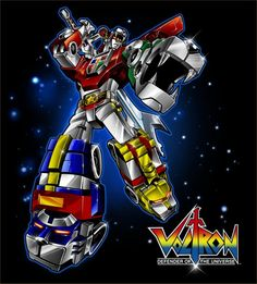 80s anime Voltron Defender of the Universe