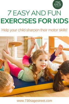 Routine exercise can help your child sharpen their motor skills and strengthen their little hearts and lungs. The problem is actually getting them on their feet and active. If it feels too much like an exercise program, they may turn away from it. Games For Kids, Activities For Kids, Fun Workouts, Fun Exercises, Pre K Schools, Cool Kids, Kids Fun, School Closures, Fitness Activities