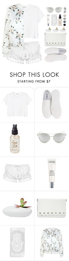 """sweet construct"" by collagette ❤ liked on Polyvore featuring Monki, Nly Shoes, Olivine, Chicnova Fashion, Victoria's Secret, Terre Mère, Lancôme, Dot & Bo, Nine West and Boohoo"