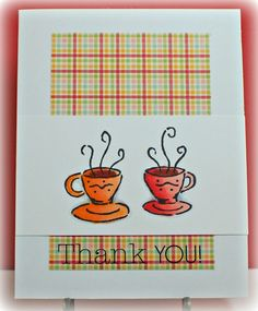 "Simply Elegant Paper Crafts blog; SRM Stickers; Fancy Pants ""Time for Spring"" paper; Great Impressions tea cup stamp"