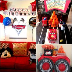 Keoni's Cars Birthday Party