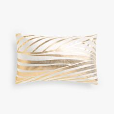 Image 1 of the product Gold print velvet cushion cover