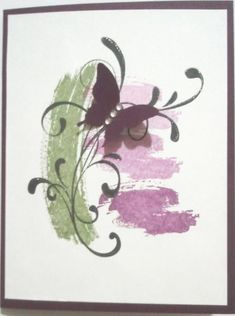 Work of Art & Flourishes. Blissful Work of Art by Nan Cee's - Cards and Paper Crafts at Splitcoaststampers