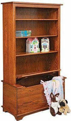 Toy box bookcase..
