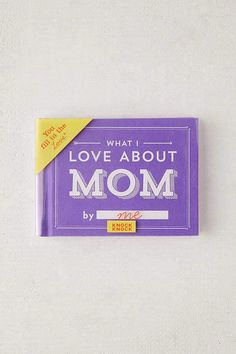 Urban Outfitters What I Love About Mom By Knock Affiliate Wedding Gifts For Parents