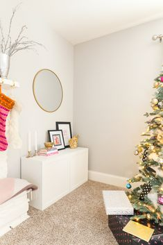 Our Whimsical Colorful Glam Christmas Decor Part I - Arie + Co. Best Interior Design, Unique Colors, Home Decor Inspiration, Homestead, Decor Styles, Whimsical, Kids Room, Christmas Decorations, Rooms