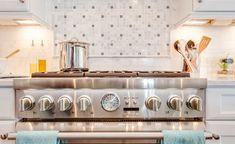 Range Backsplash Design Ideas. Range Backsplash Design Ideas for White Kitchens. #RangeBacksplash